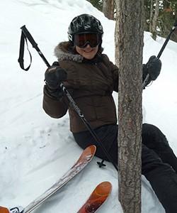 Judy... tree hugger?